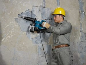 Bosch GSH 5 X Professional application 2