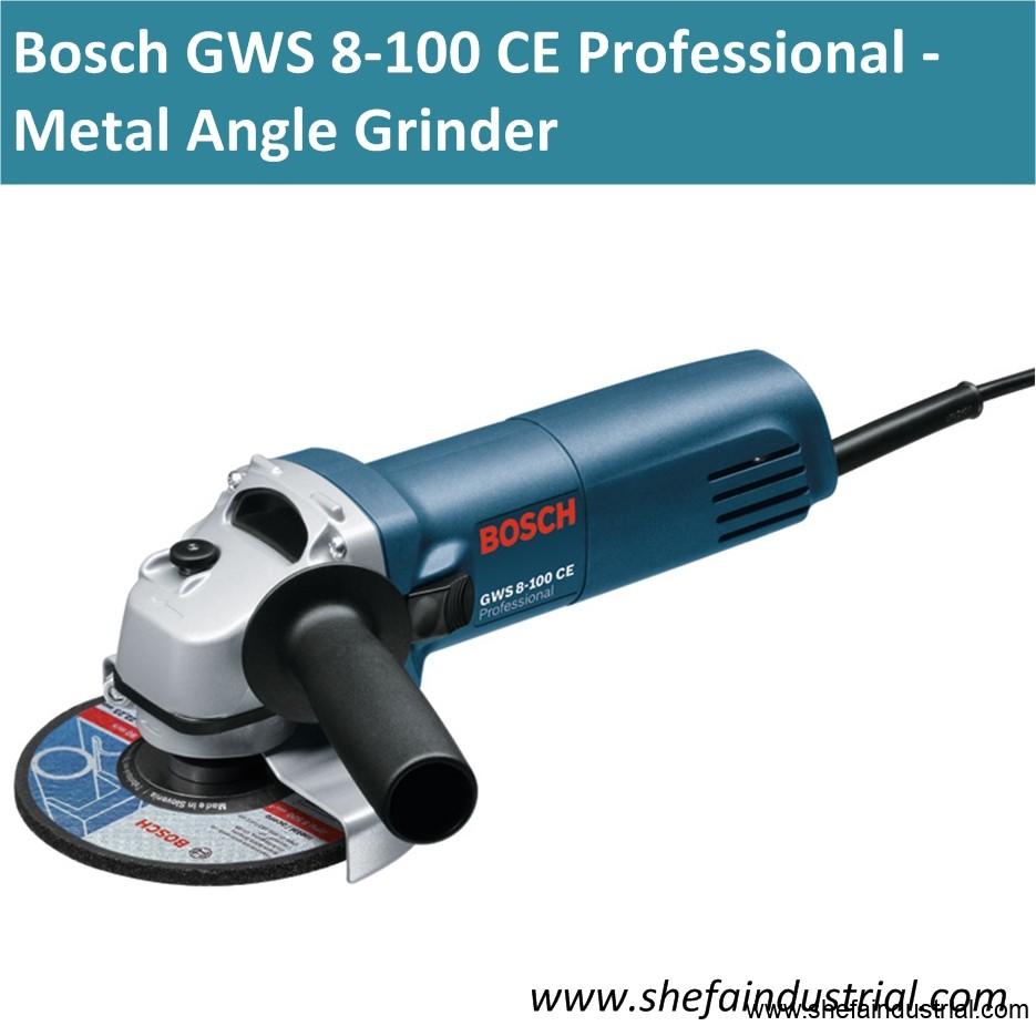 Bosch GWS 8 100 CE - metal angle grinder