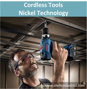Cordless Tools - Nickel Technology