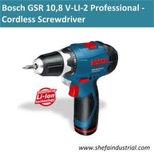 GSR 10,8 V-LI-2 Professional 2