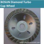 bosun diamond turbo cup wheel