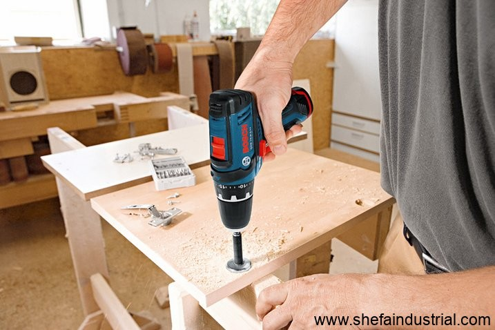 bosch gsr 10 8 v li 2 professional cordless drill driver. Black Bedroom Furniture Sets. Home Design Ideas
