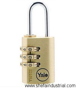 yale combination padlock