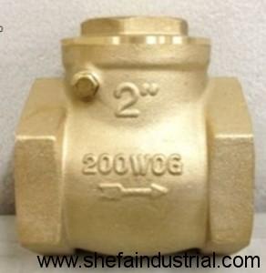 Brass Check Valve - 200 WOG 2