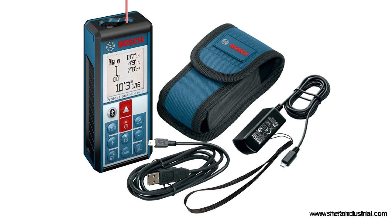 Bosch Glm 100 C Professional Laser Range Finder And