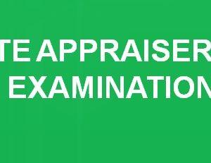 Real Estate Appraiser - Exam Results 2014