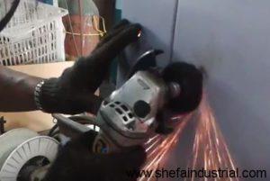 spot weld clean up - by shefa industrial