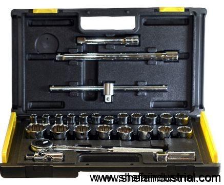 Stanley 1/2 DR 27-piece Socket Set (Silver) - 86477