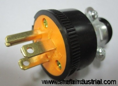 Eagle Electric Plug Flat With Ground Cat 1709 Or