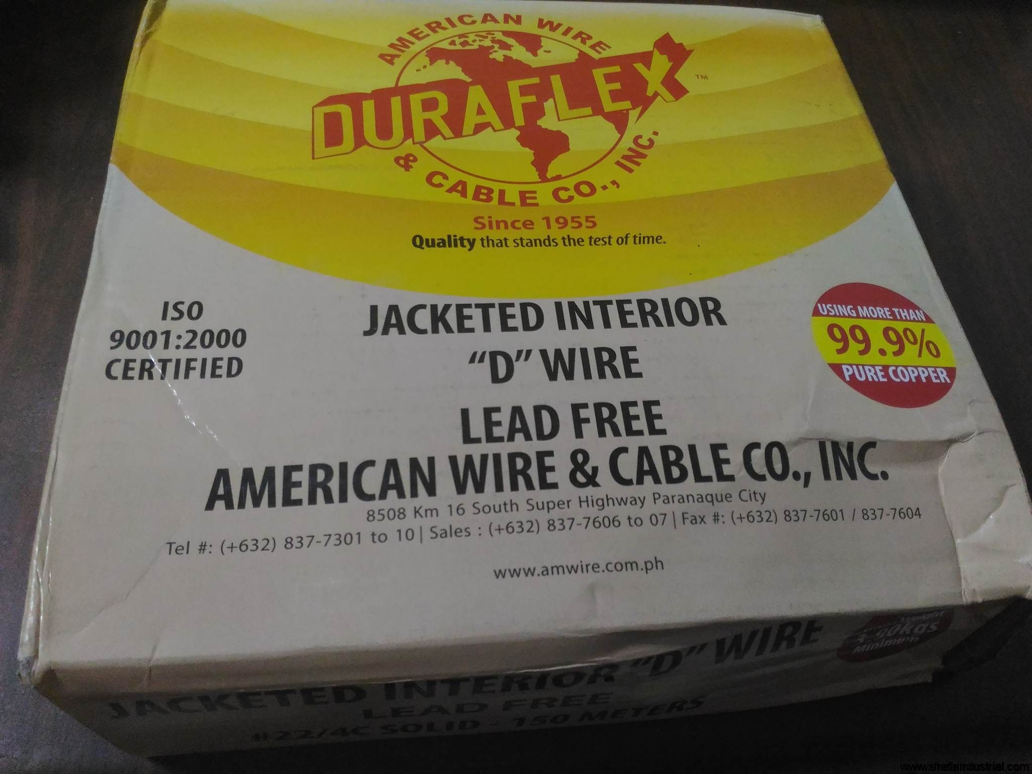 duraflex-jacketed-indoor-telephone-cable-d-wire-lead-free-4-wires ...