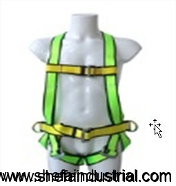 full-body-harness-single-lanyard