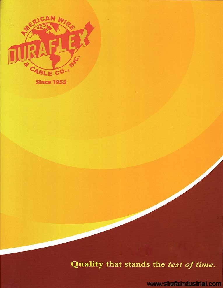 duraflex brochure page 1