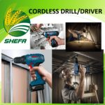 Cordless Drill/Driver - Lithium ion
