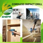Cordless Impact Drill - Lithium ion