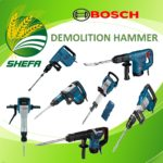 Demolition Hammer with Carrying Case